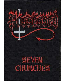 Possessed - Seven Churches backpatch (21x30 cm)