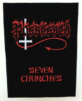 Possessed - Seven Churches backpatch (standard size)