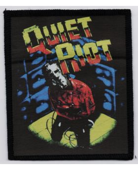 Quiet Riot patch