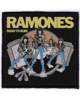 Ramones - Road To Ruin patch