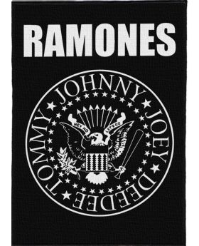 Ramones - Logo backpatch (21x30 cm)
