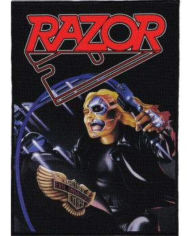 Razor - Evil Invaders backpatch (21x30 cm)