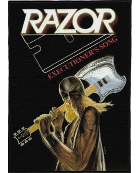 Razor - Executioner's Song backpatch (21x30 cm)