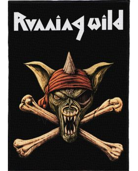 Running Wild - Logo backpatch (21x30 cm)