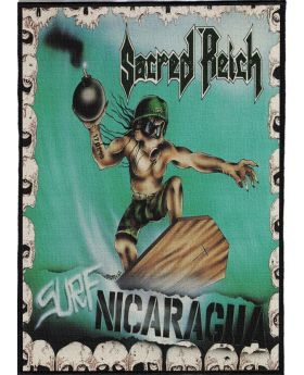 Sacred Reich - Surf Nicaragua backpatch (21x30 cm)