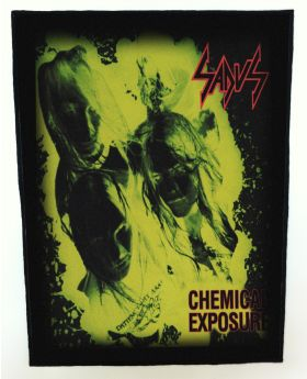 Sadus - Chemical Exposure backpatch (standard size)