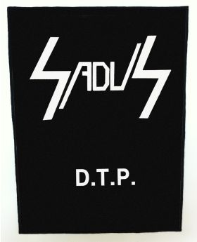 Sadus - Death to Posers backpatch (standard size)