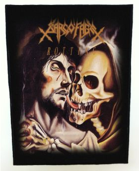 Sarcofago - Rotting backpatch (standard size)