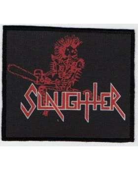 Slaughter - Logo patch