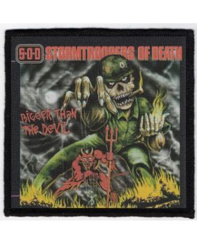 S.O.D. - Bigger Than the Devil  patch