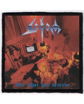 Sodom - Get What You Deserve patch