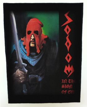 Sodom - In the Sign of Evil backpatch (standard size)