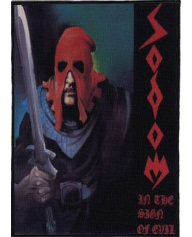 Sodom - In the Sign of Evil backpatch (21x30 cm)