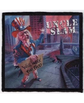 Uncle Slam - Will Work for Food patch