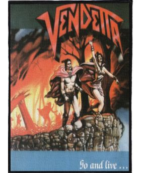 Vendetta - Go and Live backpatch (21x30 cm)