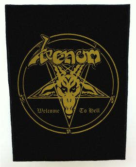 Venom - Welcome to Hell backpatch (standard size)