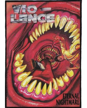 Vio-Lence - Eternal Nightmare backpatch (21x30 cm)