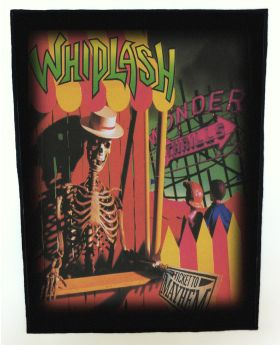 Whiplash - Ticket to Mayhem backpatch (standard size)