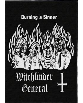 Witchfinder General - Burning a Sinner backpatch (21x30 cm)